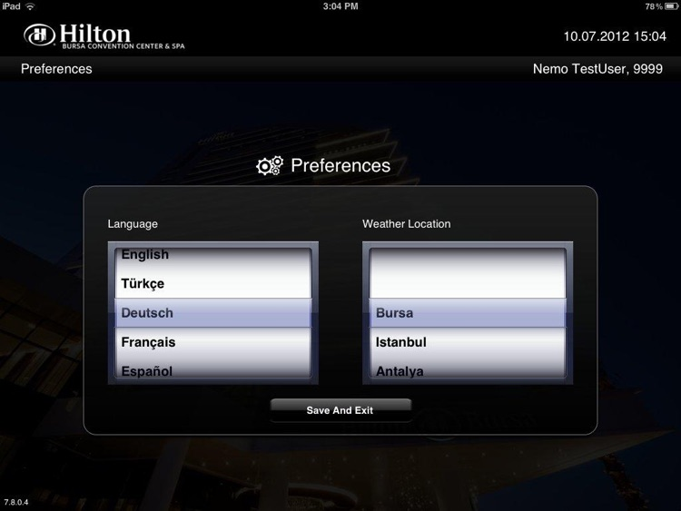 Hilton Bursa screenshot-4
