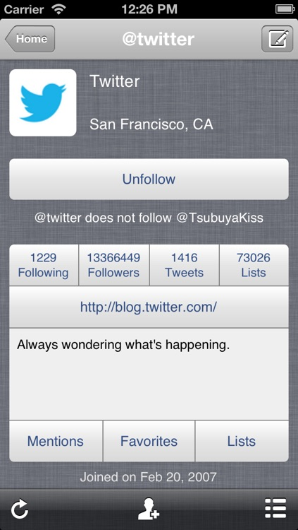 TwitRocker2 for iPhone - twitter client for the next generation
