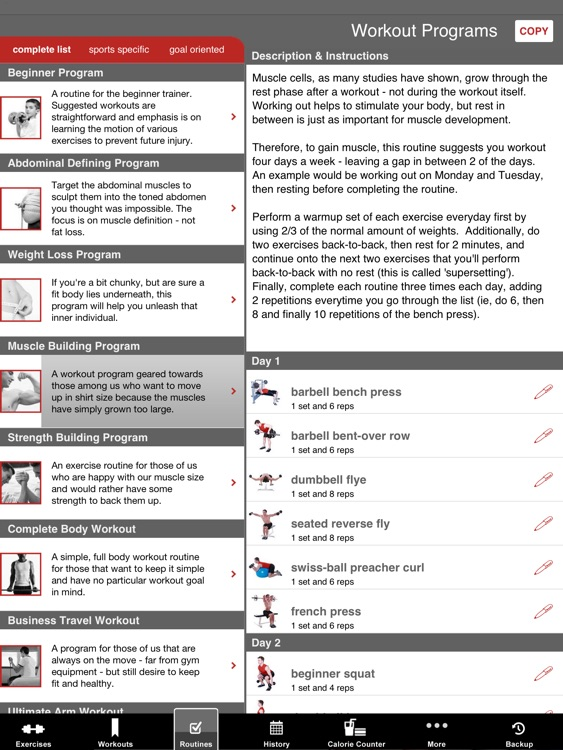 Full Fitness HD for iPad screenshot-4