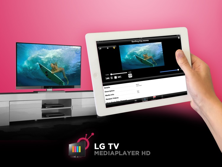 LG TV Media Player HD screenshot-0