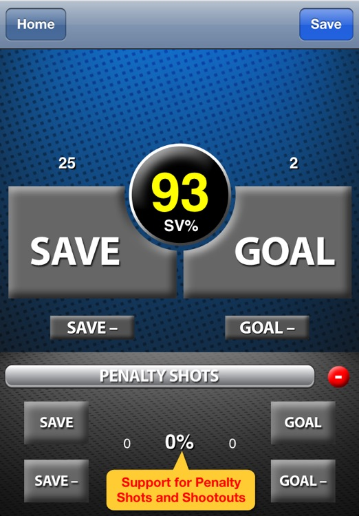 Goalie Stats screenshot-1
