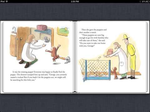 Curious George And The Puppies Read Aloud By H A Rey On Apple Books