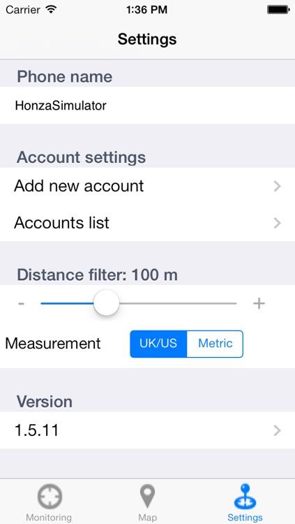 Cell Phone GPS Tracker (PhoneOnMap) screenshot-4
