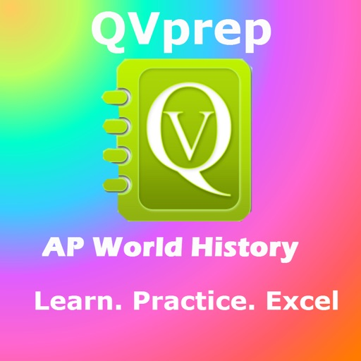 QVprep AP World History : Learn Test Review for AP advanced placement World History for SAT Subject test, for College History majors, Schools, Colleges and exam preparation
