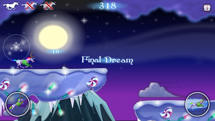 Robot Unicorn Attack Christmas Edition screenshot-3