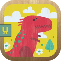 Mini-U: Dinosaurs. Pairs matching memory game for children