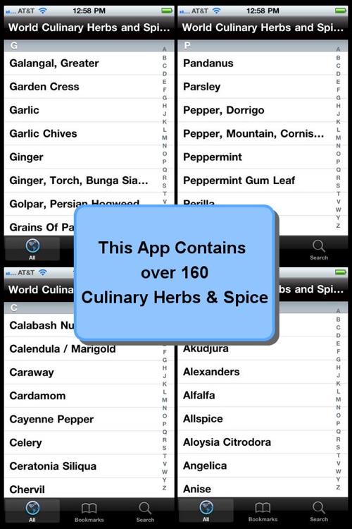 Culinary Herbs & Spices Encyclopedia screenshot-3