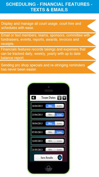 Sports Club Admin - Management Business solution screenshot-3