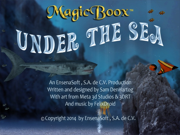 Magic Boox: Under the Sea screenshot-0