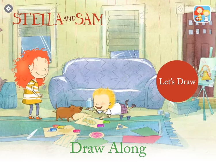 Draw Along with Stella and Sam screenshot-4