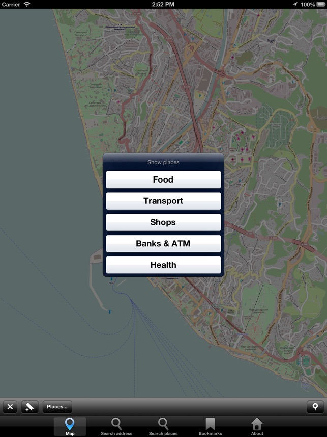 Offline Map Abkhazia City Navigator Maps
