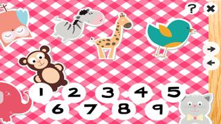 123計數嬰兒及兒童遊戲是免費的:有趣的玩與學數學的應用軟件!我的寶寶第一個號碼 - S&小動物屏幕截圖4