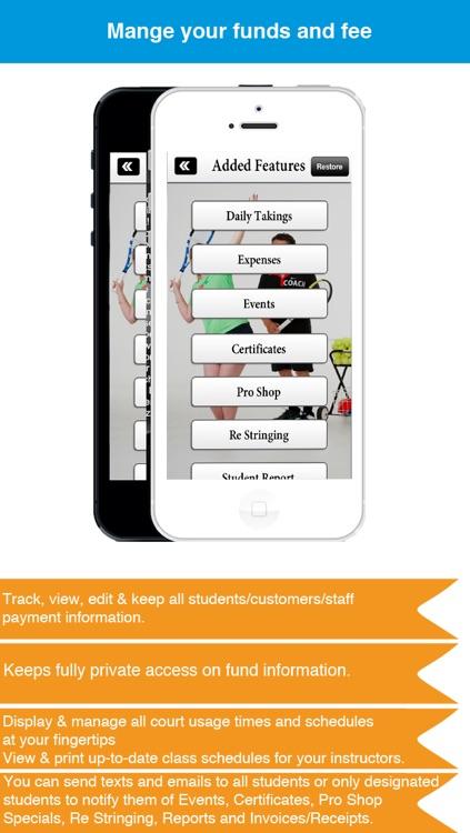 Tennis Coaching Business - Business Management Solution screenshot-4