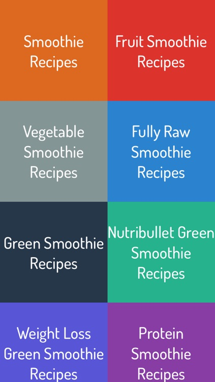 Smoothie Recipes - Best Smoothie Recipes screenshot-0