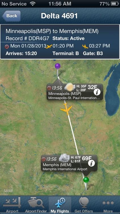 Minneapolis Airport - Flight Tracker MSP