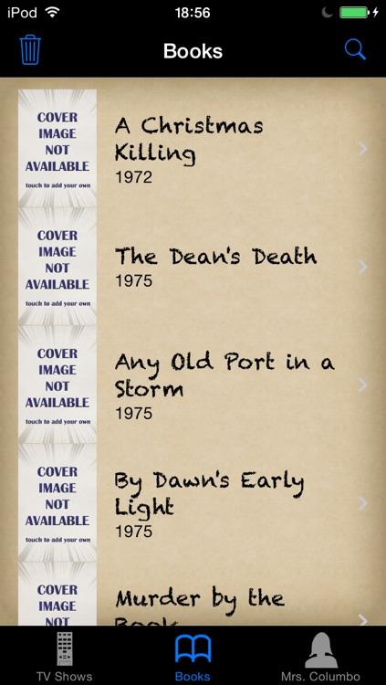 Episode Guide for Columbo screenshot-3
