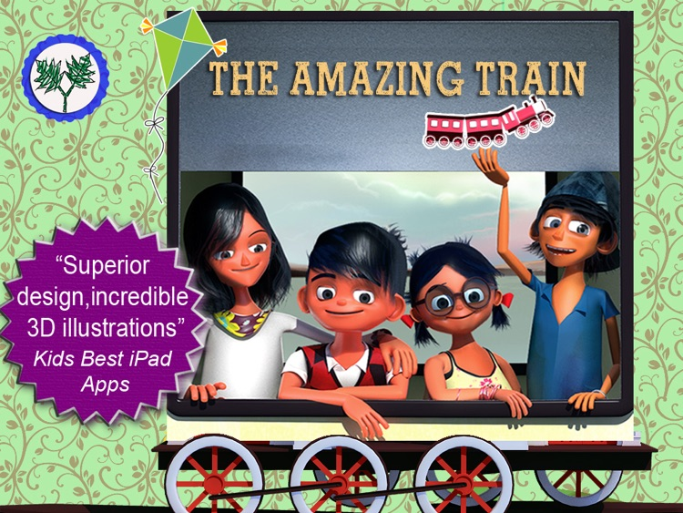 The Amazing Train- Interactive Storybook for Kids screenshot-4