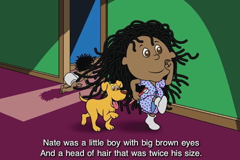 Nate's Big Hair - Kids Book
