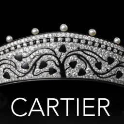 Cartier, jeweler to kings. The application of the Grand Palais exhibition in Paris.