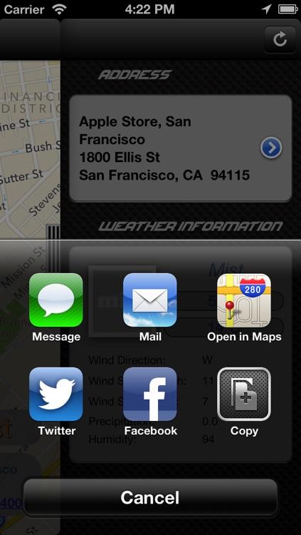 AutoDash - GPS Information and Location Sharing screenshot-3