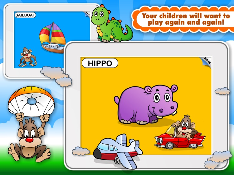 Abby Monkey® Animated Shape Puzzle Builder Deluxe: First Words Learning Game for Toddlers and Preschool Explorers!