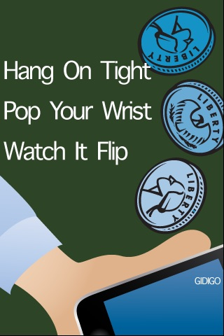 WristPop Coin Toss - Free screenshot-0