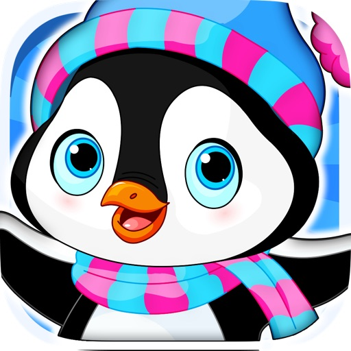 Arctic Penguin in the Frozen Ice Cream Fall-ing Hunt Pro Game