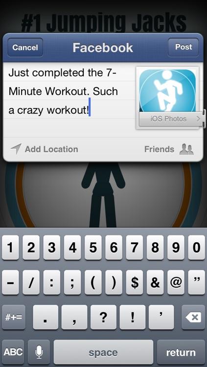 7-Minute Workout (High Intensity Circuit Training) screenshot-4