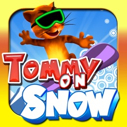 Tommy On Snow Free: Help Tommy to go fast and jump higher. Good game for Kids and adults