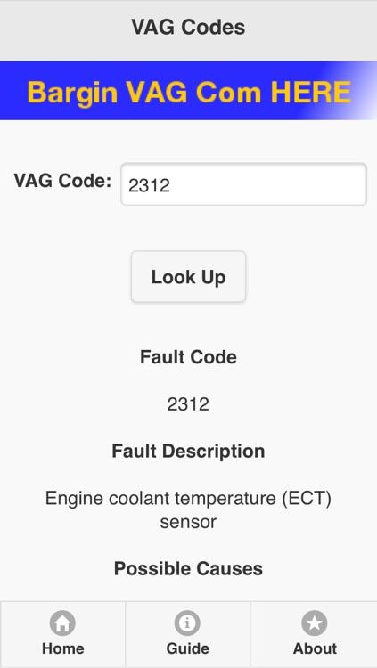 OBD/Manufactures Trouble Codes(Fault Codes) Lite