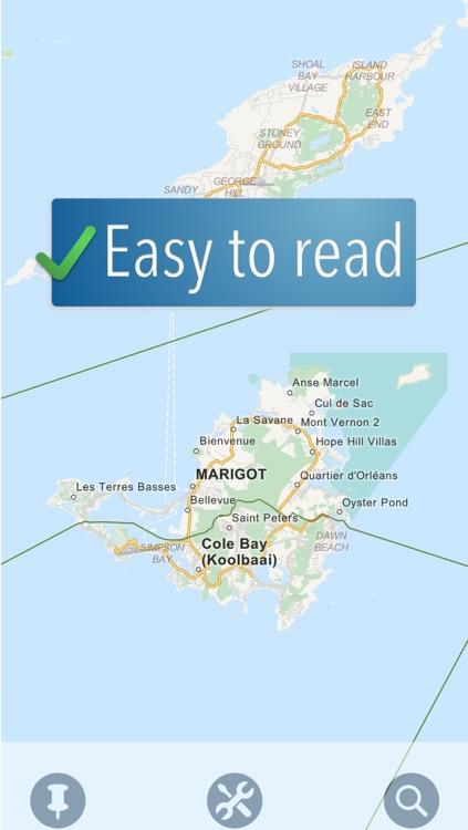 Saint Martin Travelmapp
