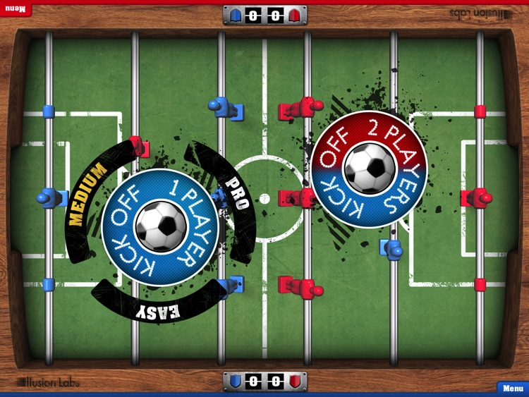 Foosball HD screenshot-1
