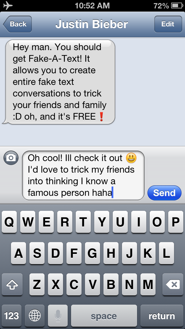 Fake-A-Text FREE [Fake Text Free & Fake A Call—Call It A Prank