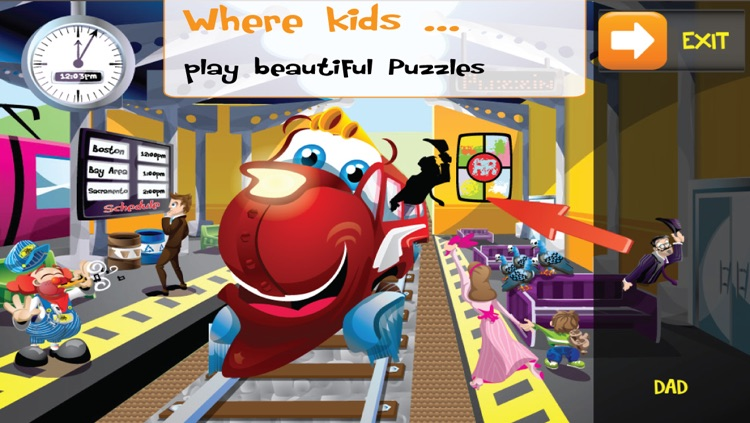 PUZZINGO Trains Puzzles Games for Kids and Toddlers