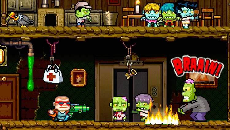 Crazy Bill: Smashing Zelebrities at the zombie stars hotel