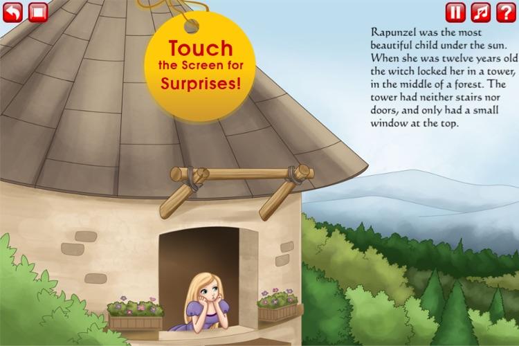 Rapunzel Storybook HD