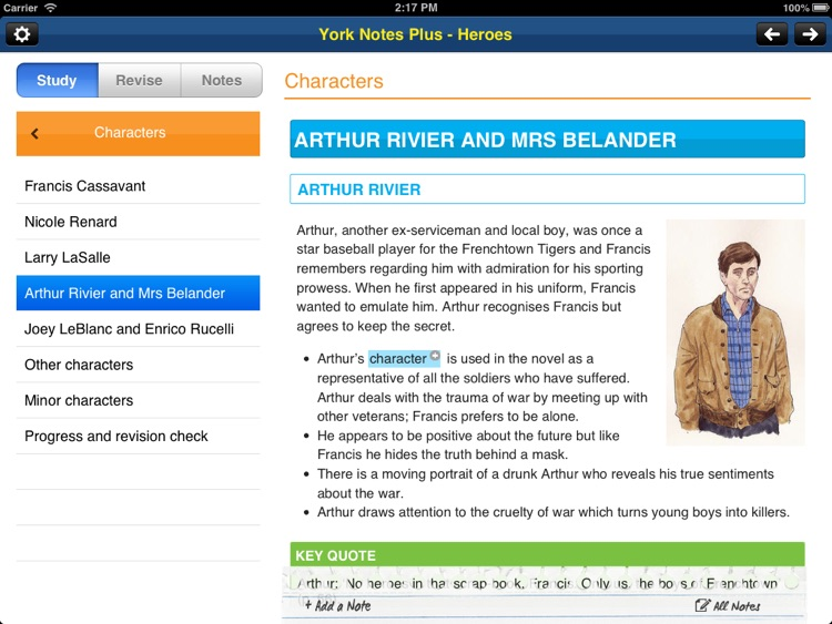 Heroes York Notes GCSE for iPad