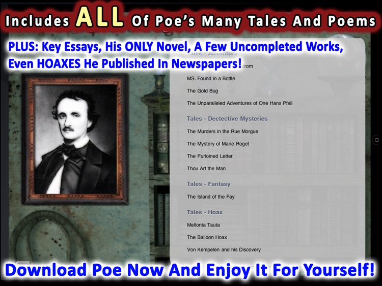 The Complete Edgar Allan Poe screenshot-3