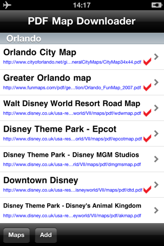 Orlando Maps - Download City Maps and Tourist Guides. screenshot 2
