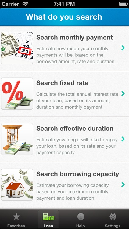 Loan Calculator - Credit Mortage Payment Simulation screenshot-2