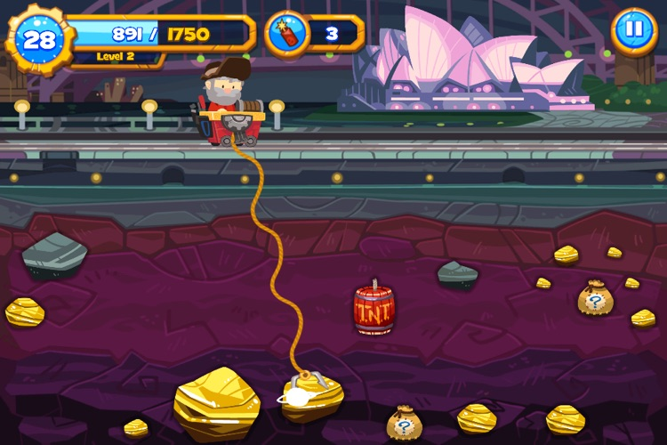 Gold Miner Go! screenshot-1