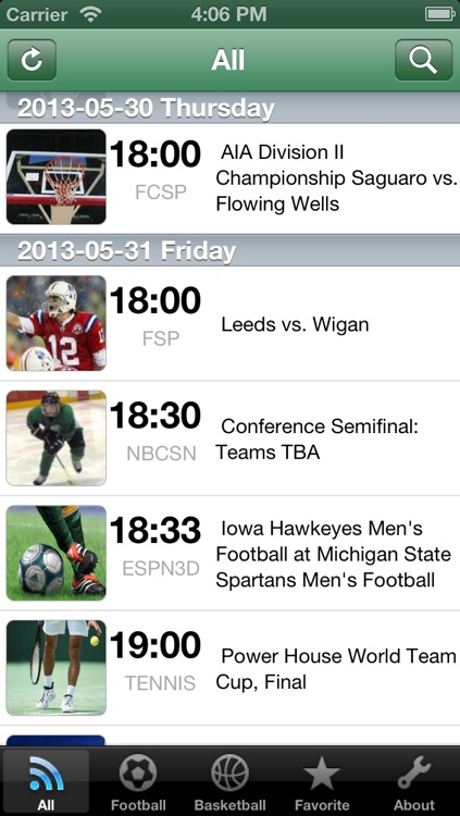 iSports TV Guide screenshot-1
