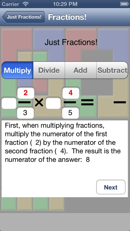 Just Fractions screenshot-0