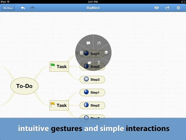 BigMind Pro - Mind Mapping screenshot-3
