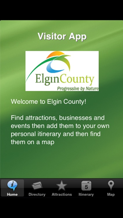 Elgin County and St. Thomas Visitor App