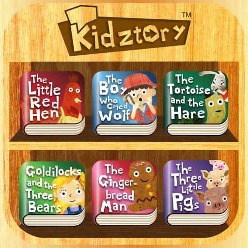 """""""Kidztory Treasury"""" – Record-and-share children's stories"""