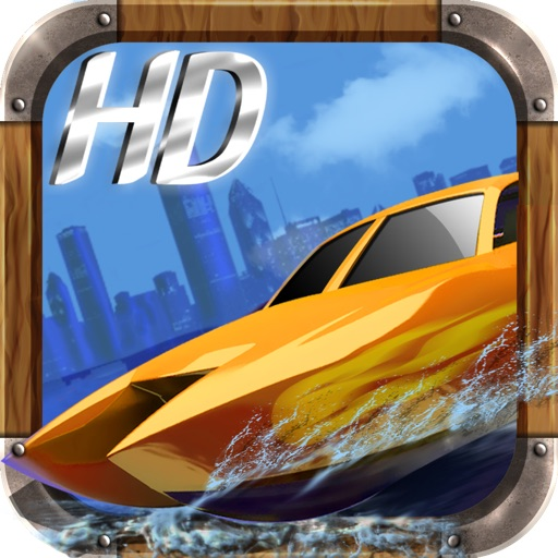 A Police Chase Nitro Speed Boat Race Free HD