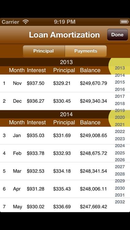 Mortgage and Loan Calculator screenshot-4