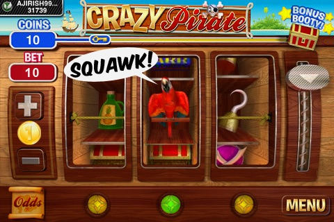 Crazy Pirate Slots screenshot-3