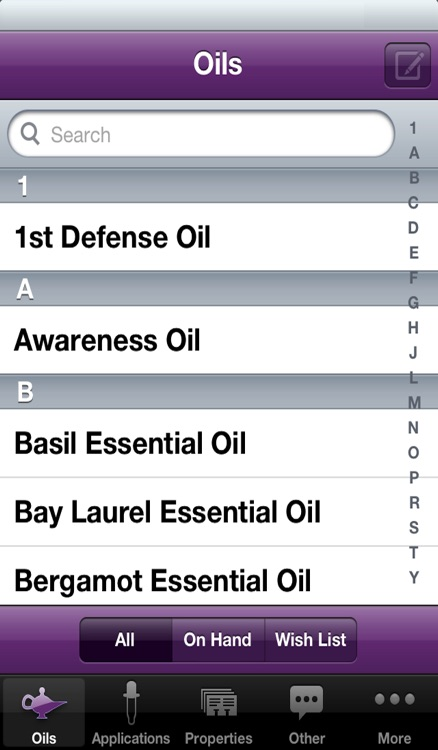 Essential Oils screenshot-0
